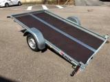 Erde kantelbare aanhangwagen - 300x170cm - geremd 1300kg - _