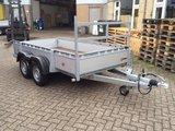 Henra geremde bakwagen 307x155cm - dubbelas - 2000kg_