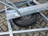 Erde motortrailer voor 1 motor/scooter 450kg AS_