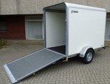 Henra gesloten aanhangwagen 265x158cm - enkelas - 1350kg_