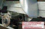 Enkelas ongeremde bakwagen 257x132cm - 750kg _