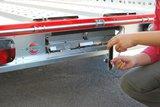 Systema 1000kg motortrailer met afmeting 210x128cm _