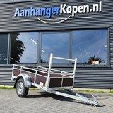 Enkelas ongeremde bakwagen 200x110cm - 750kg [Incl. wettelijk COC papier]_