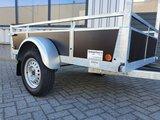 Enkelas ongeremde bakwagen 200x132cm - 750kg _