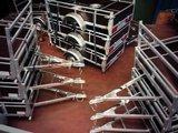 Bakwagen hout 257x132cm Enkelas nu met 8jr garantie op chassis !_