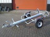 Erde motortrailer voor 1 motor/scooter geschikt v. op achterkant te zetten_