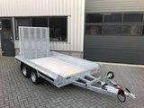 Hulco Machinetransporte 394x180cm 3500kg dubbelas - klep 150cm_