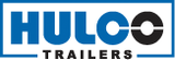 Hulco Machinetransporte 394x180cm 3500kg drieasser - klep 100cm_