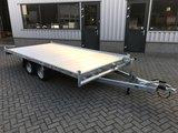 Showroom model op=op - Laadvloer 62cm - 405x200cm - dubbelas - 3000kg _