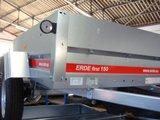 Erde First 150 - 650kg - 145x100x32cm - metalen aanhangwagen ongeremd -_
