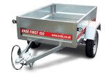 Erde First 210 - 750kg - 205x129x36cm - metalen aanhangwagen ongeremd -_