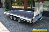 Machinetransporter 400x180cm - 3500kg - Drieasser - 3x 1350kg as_