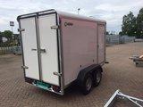 Henra gesloten aanhangwagen 265x158cm - 2000kg - dubbelas- _