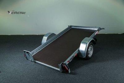 Erde kantelbare aanhangwagen - 250x130cm - ongeremd 750kg -