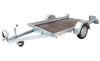Erde kantelbare aanhangwagen - 250x150cm - geremd 1000kg -