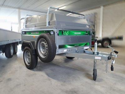 DaXara 168 - 1300 Liter - helemaal compleet - 750kg - [Ex verhuur model 2019]