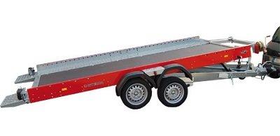 Kantelbare autotransporter 400x201cm 2700kg met dichte bodem