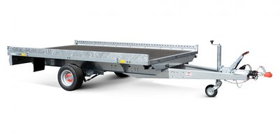 Stema enkelas autotransporter met afmeting 301x183cm  - 1500kg