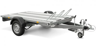 Systema 1300kg motortrailer met afmeting 251x153cm