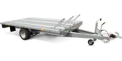 Systema Plateau 1500kg motortrailer met afmeting 251x183cm