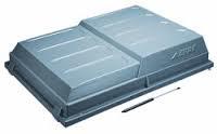 Deksel ABS voor DaXara bagagewagen type 147/148/157/158
