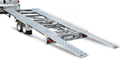 Stema Kantelbare autotrailer 400x201cm 2700kg Dubbelas