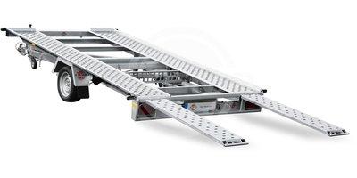 Stema Kantelbare autotrailer 400x201cm 1800kg Enkelas
