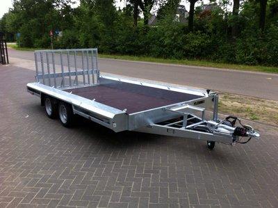 T. Vlemmix Machinetransporter 400x180cm 2700kg Dubbelas