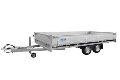 Hulco Plateauwagen Medax-2 3001 R - 405x203cm - Dubbelas