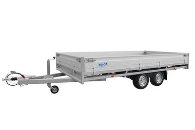 Hulco Plateauwagen Medax-2 3003 - 611x203cm - Dubbelas