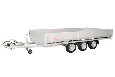Hulco Plateauwagen Medax-3 3503 R - 611x203cm - 3-assen