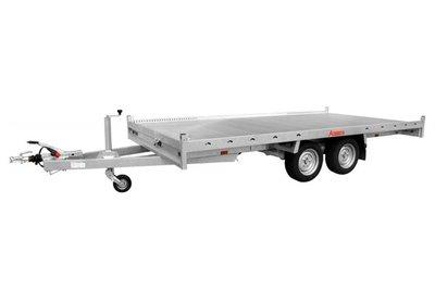 Anssems multitransporter - Laadvloer 62cm - 405x200cm - dubbelas - 3500kg