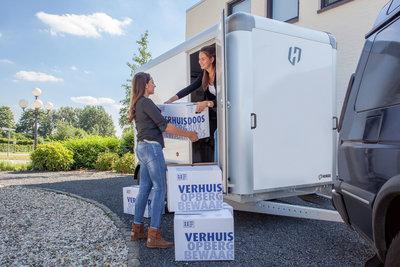 Henra Gesloten aanhangwagen - 315x158x190cm - 2700kg - sandwich panelen