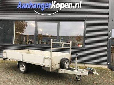 Geremde enkelas plateauwagen - Belgische papieren