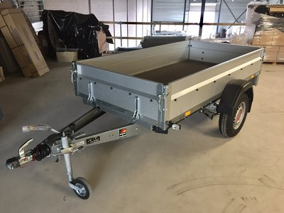 Stema bakwagen 251x126cm 1300kg geremd