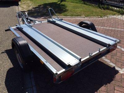 Stema motortrailer voor 2 motoren 216x159cm 850kg geremd  [SHOWROOM MODEL]