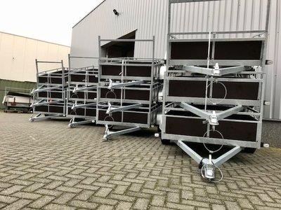 Ongeremde aanhangwagen / bakwagen - Bij ons tegen de beste prijzen van NL en Belgie !