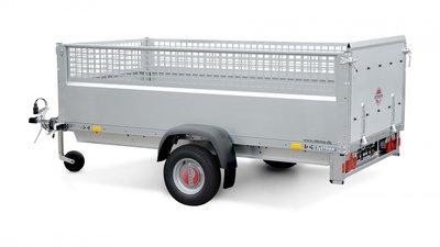 REX 25 met loofrekken  STP O1 7.5-21-13.1 - 251x128cm - 750kg