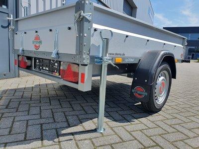 Stema 210x128cm - metaal 750kg - helemaal vlak te maken - compleet