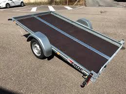 Erde kantelbare aanhangwagen - 300x170cm - geremd 1300kg -