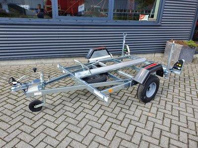 Erde motortrailer voor 1 motor/scooter 450kg AS