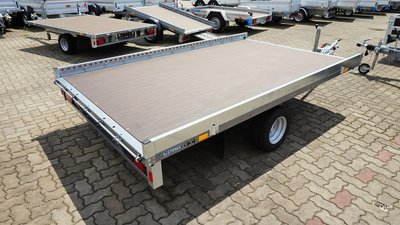 Stema enkelas autotransporter met afmeting 301x203cm  - 1500kg
