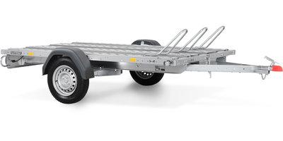 Systema 750kg motortrailer met afmeting 210x128cm