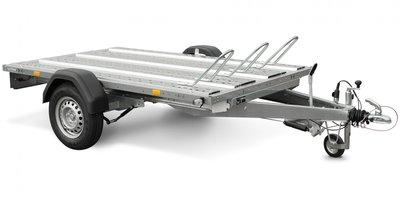 Systema 1000kg motortrailer met afmeting 251x128cm