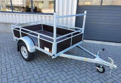 Enkelas ongeremde bakwagen 200x132cm - 750kg