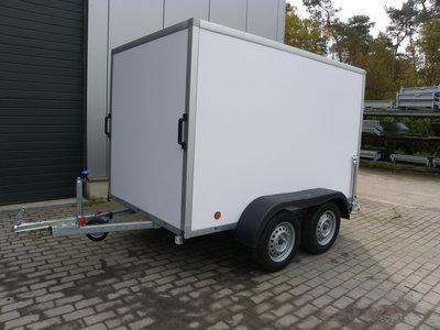 Gesloten Dubbelas - Power Serie PPL 252x150cm 150cm hoog