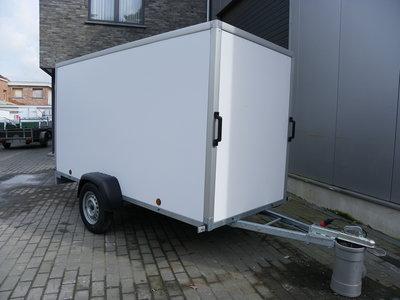 Gesloten Enkelas Geremd- Power Serie PPL 257x132cm 150cm hoog