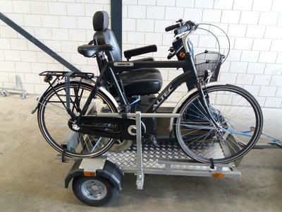 RECREATIES - Scootmobiel transporter + fiets