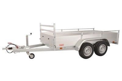 Anssems bakwagen BSX2500 - 301x150cm - dubbelas