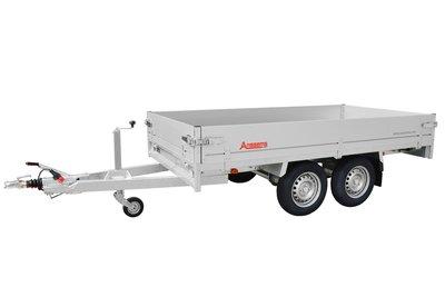 Anssems Plateauwagen PSX-S 2500 - 405x178cm - Dubbelas